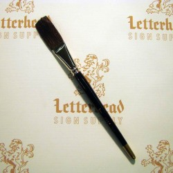 "Flat Lettering Brush ""Soft Stroke"" Brown series-1992 size 1"""