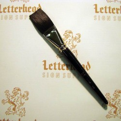 "Flat Lettering Brushes ""Jet Stroke"" Series-1962 size 1-1/4"""