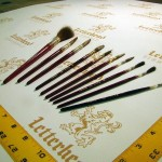 Lettering Quill Brown Squirrel Series 179L Full Set