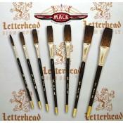 "Flat Lettering Brush ""Soft Stroke"" Brown series-1992"