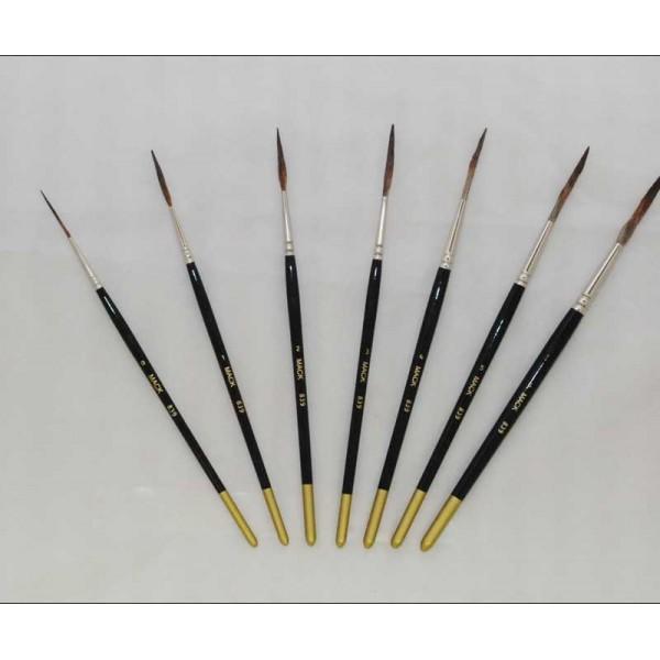 mack brush outliner brush series 839 full set