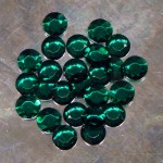 Emerald Crystal Sign Jewels 15mm