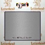 1 Shot Lettering Enamel Paint Metallic Silver 193L - Quart