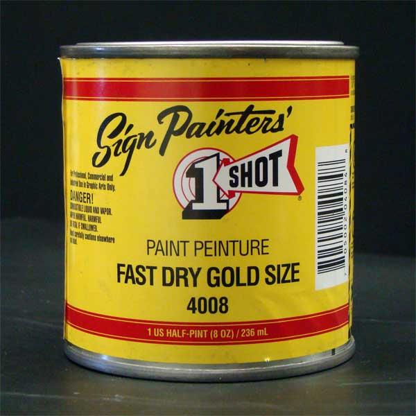 1 shot fast gold leaf size