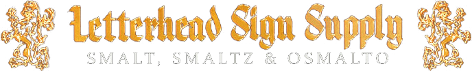 Smalts-Amazing Smalting Sign Supplies Black Colored Smalt