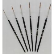 Mack Brush Series 127 Sable Script Brushes