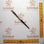 "Flat Lettering Brush Grey Stroke series-1932 size 1/8"""