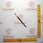 Lettering Quill Brown Squirrel Size 0 Series 179L
