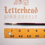 Lettering Quill Brown Squirrel Size 1 Series 179L