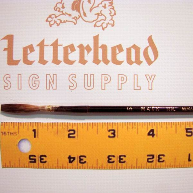 Mack Gray Lettering Quill Size 3-189L