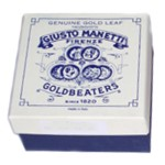 Manetti 12kt-White Gold-Leaf Glass-Book