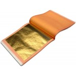 Manetti 23.50kt-Dukaten-Orange-XX Gold-Leaf Patent-Book